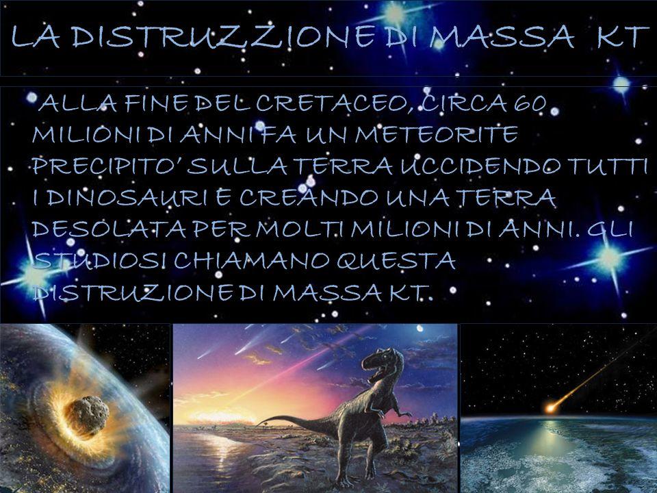 LA DISTRUZZIONE DI MASSA KT