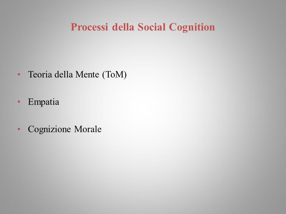 Processi della Social Cognition