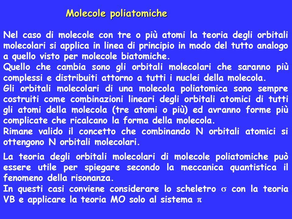 Molecole poliatomiche