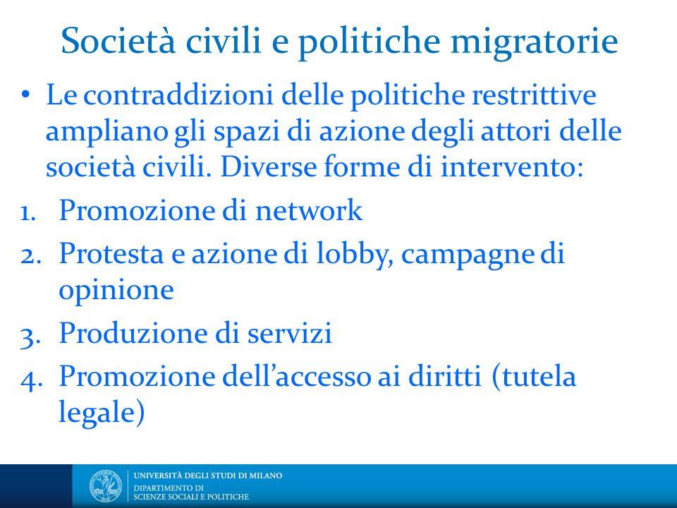 Società civili e politiche migratorie