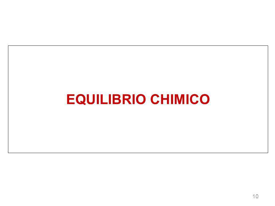 EQUILIBRIO CHIMICO 10