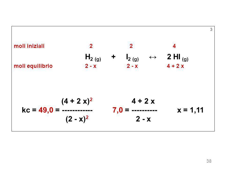 kc = 49,0 = ------------ 7,0 = ---------- x = 1,11