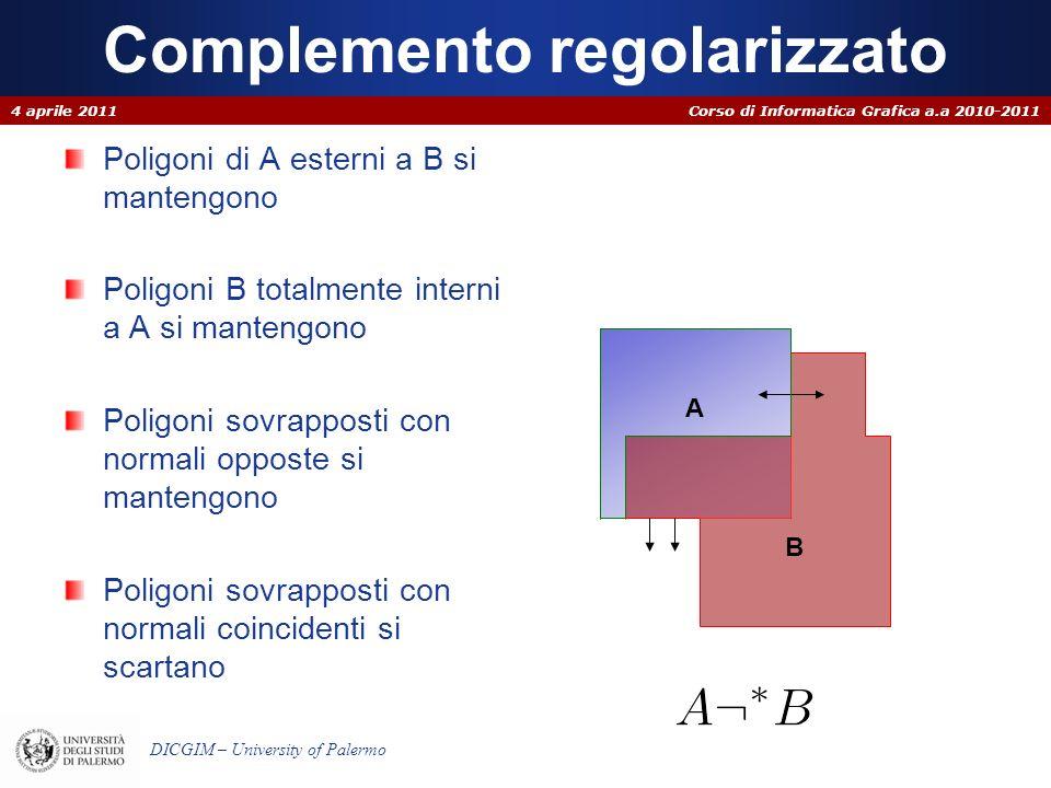 Complemento regolarizzato