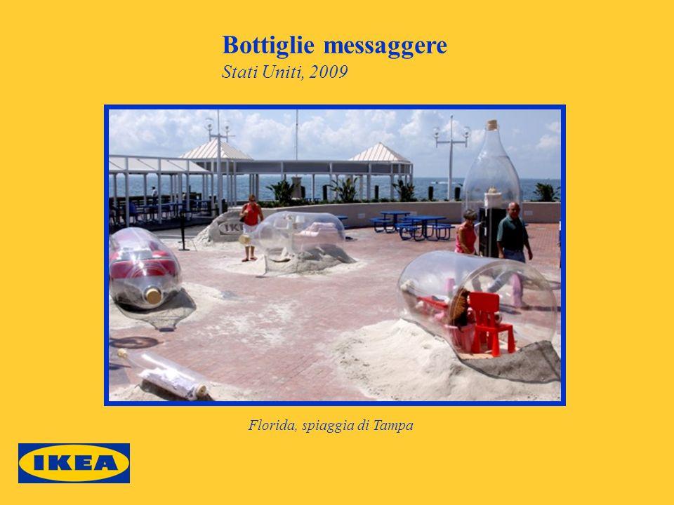 Bottiglie messaggere Stati Uniti, 2009 Florida, spiaggia di Tampa