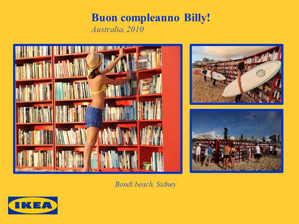 Buon compleanno Billy! Australia, 2010 Bondi beach, Sidney