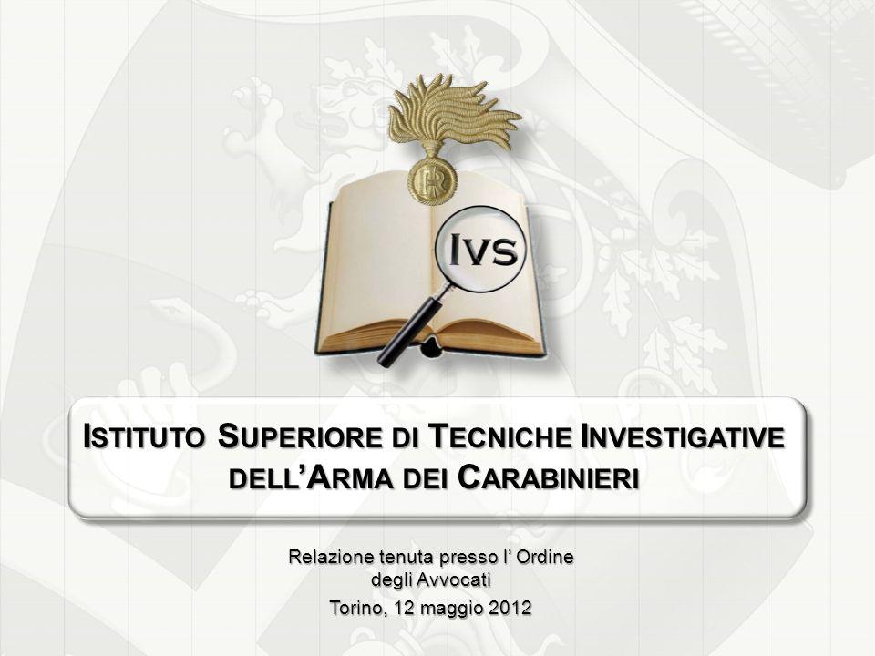 Istituto Superiore di Tecniche Investigative dell'Arma dei Carabinieri
