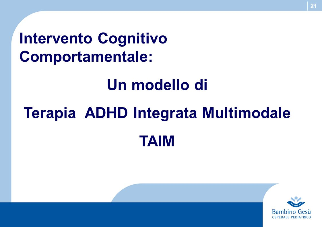 Terapia ADHD Integrata Multimodale