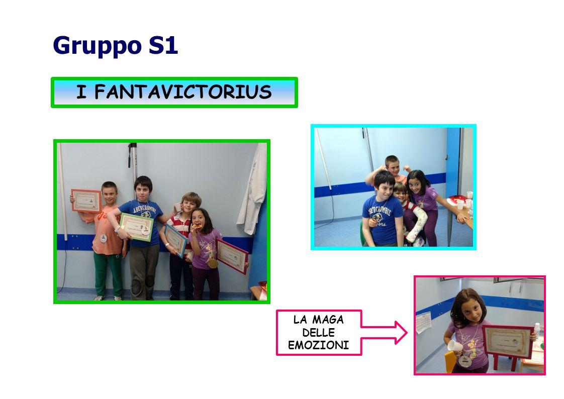 Gruppo S1 I FANTAVICTORIUS LA MAGA DELLE EMOZIONI
