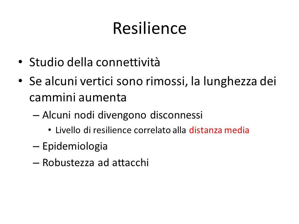 Resilience Studio della connettività