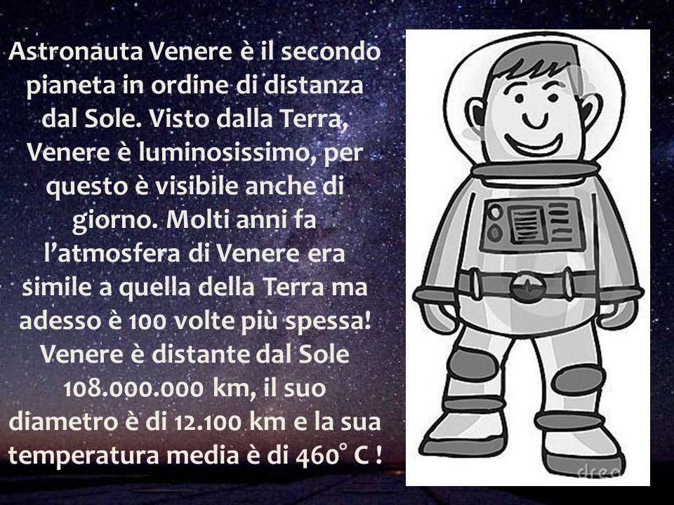 Astronauta Venere è il secondo pianeta in ordine di distanza dal Sole