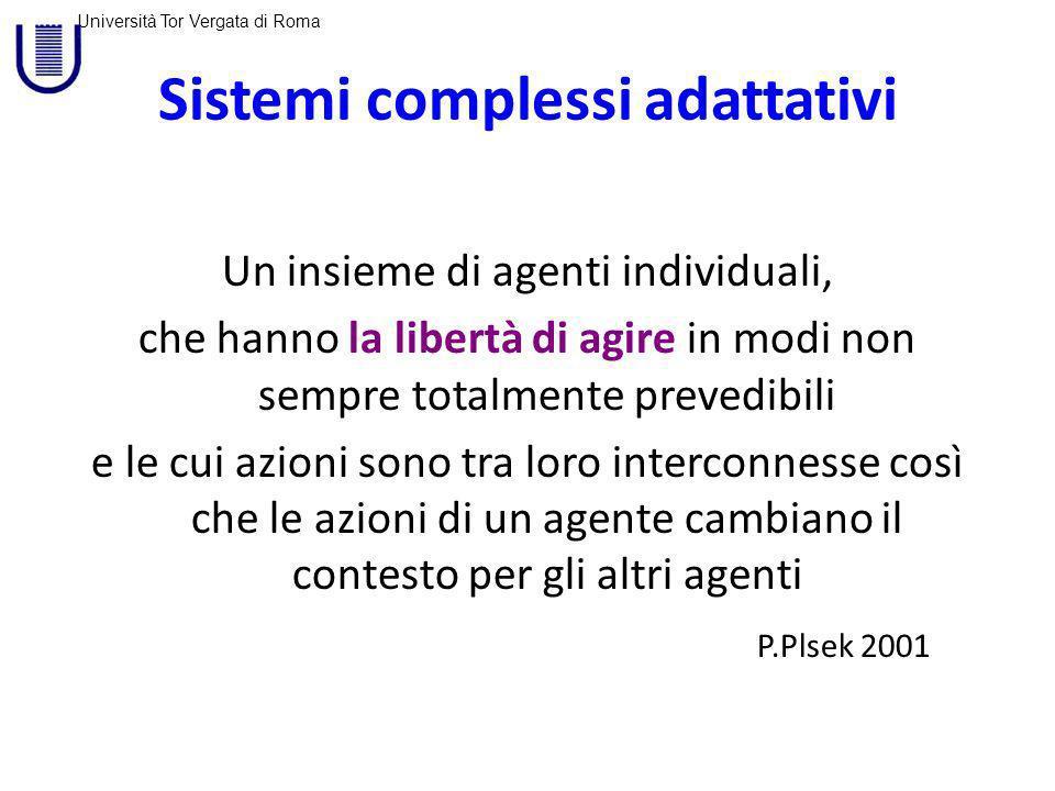 Sistemi complessi adattativi