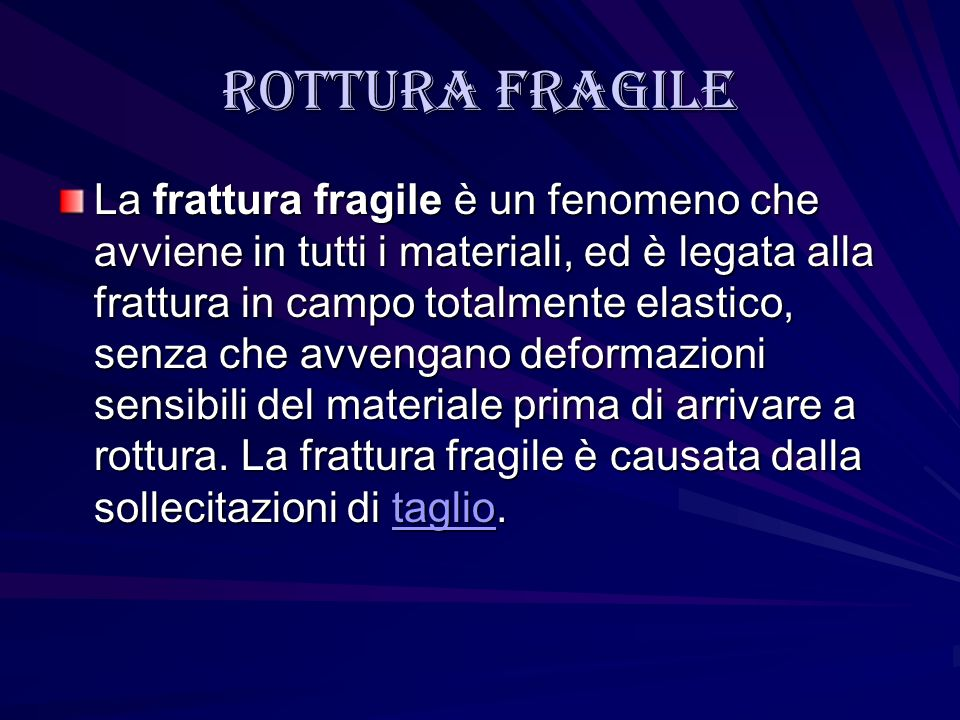 Rottura fragile