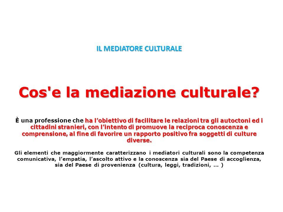 IL MEDIATORE CULTURALE