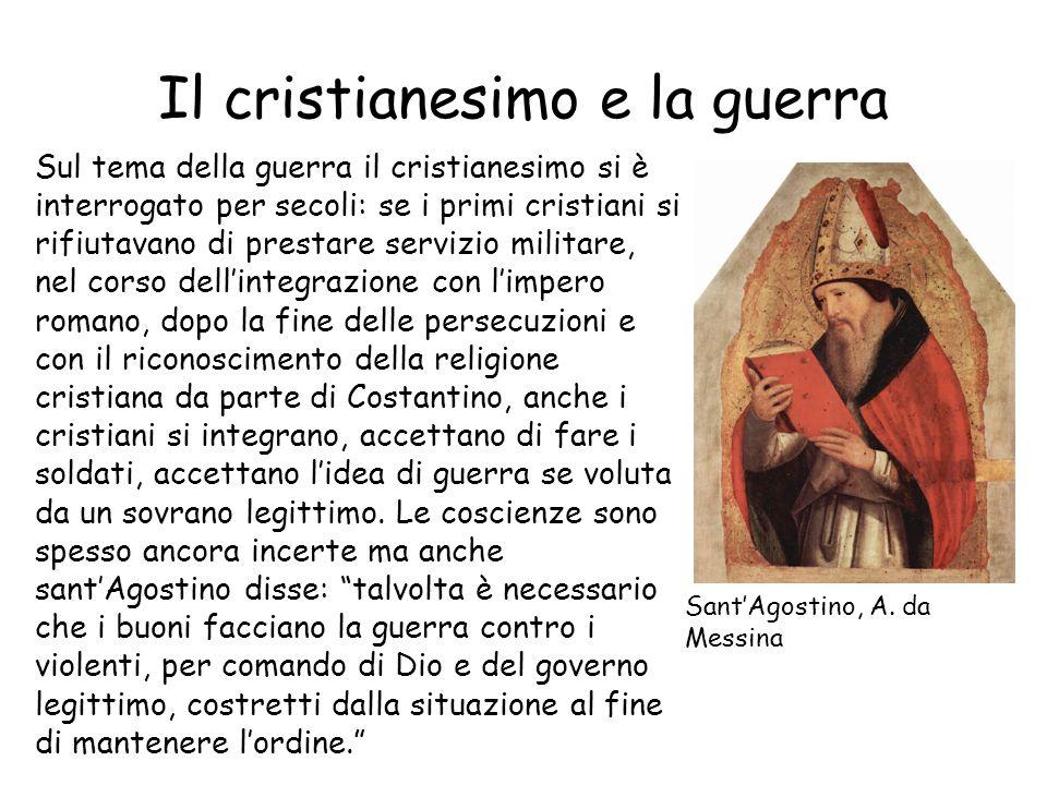 Il cristianesimo e la guerra