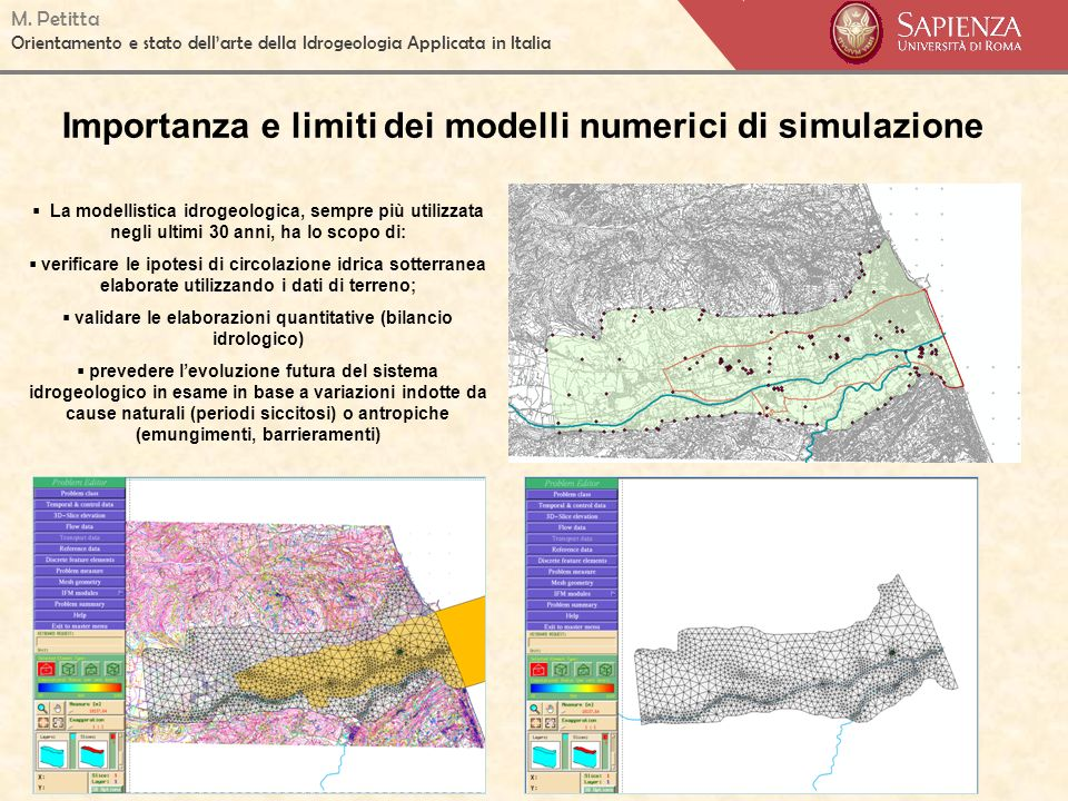 Importanza e limiti dei modelli numerici di simulazione