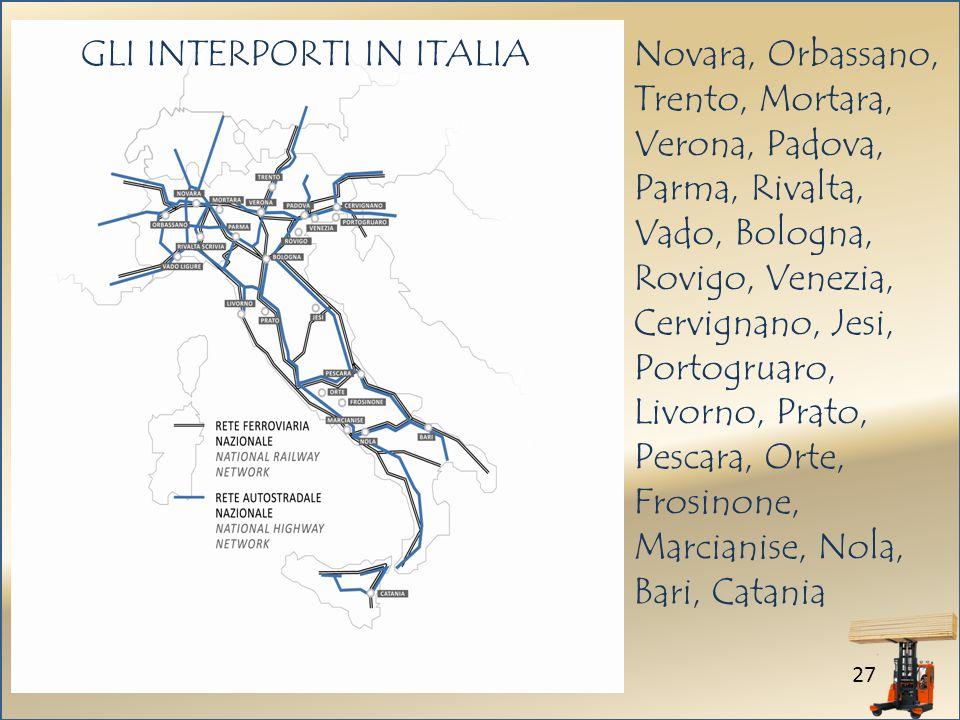 GLI INTERPORTI IN ITALIA