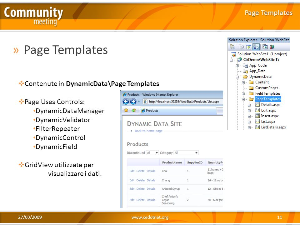 Page Templates Page Templates Contenute in DynamicData\Page Templates