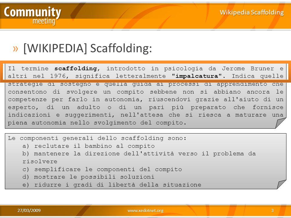 Wikipedia Scaffolding