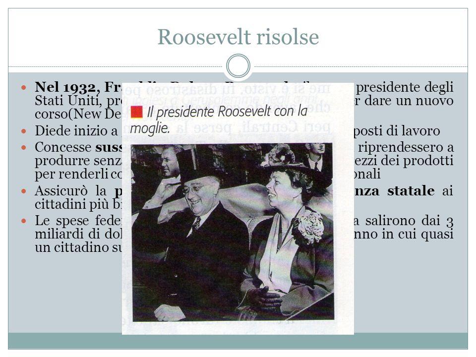 Roosevelt risolse