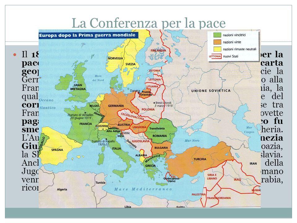 La Conferenza per la pace