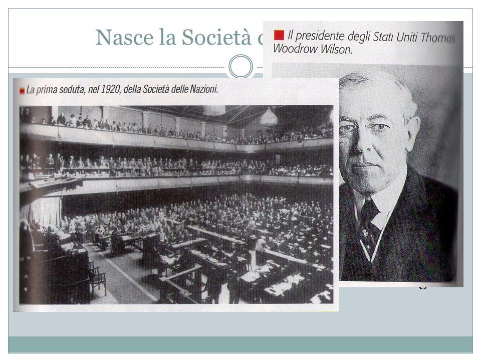 Nasce la Società delle Nazioni