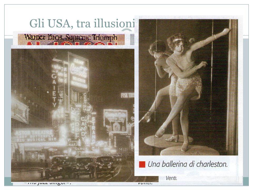 Gli USA, tra illusioni, euforia e tracollo