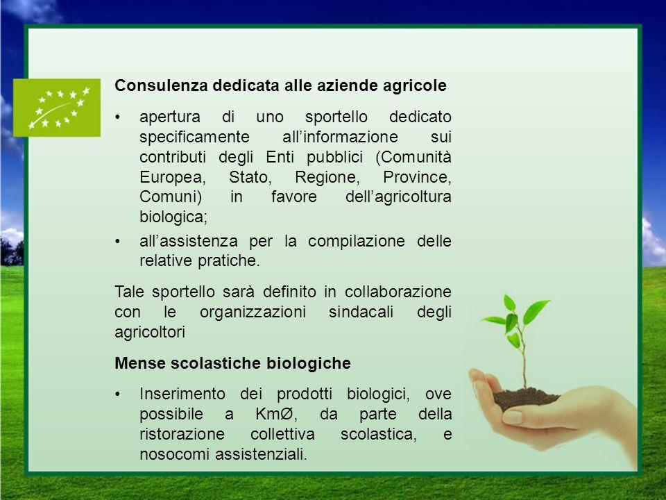 Consulenza dedicata alle aziende agricole