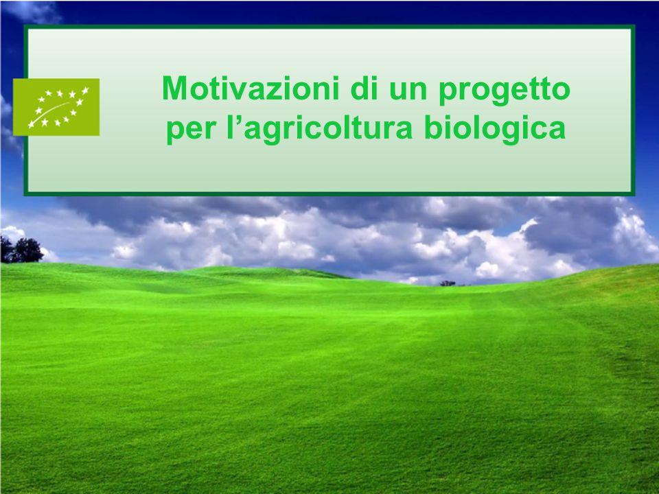 Motivazioni di un progetto per l'agricoltura biologica