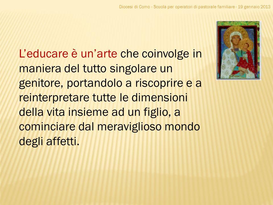 Diocesi di Como - Scuola per operatori di pastorale familiare - 19 gennaio 2013