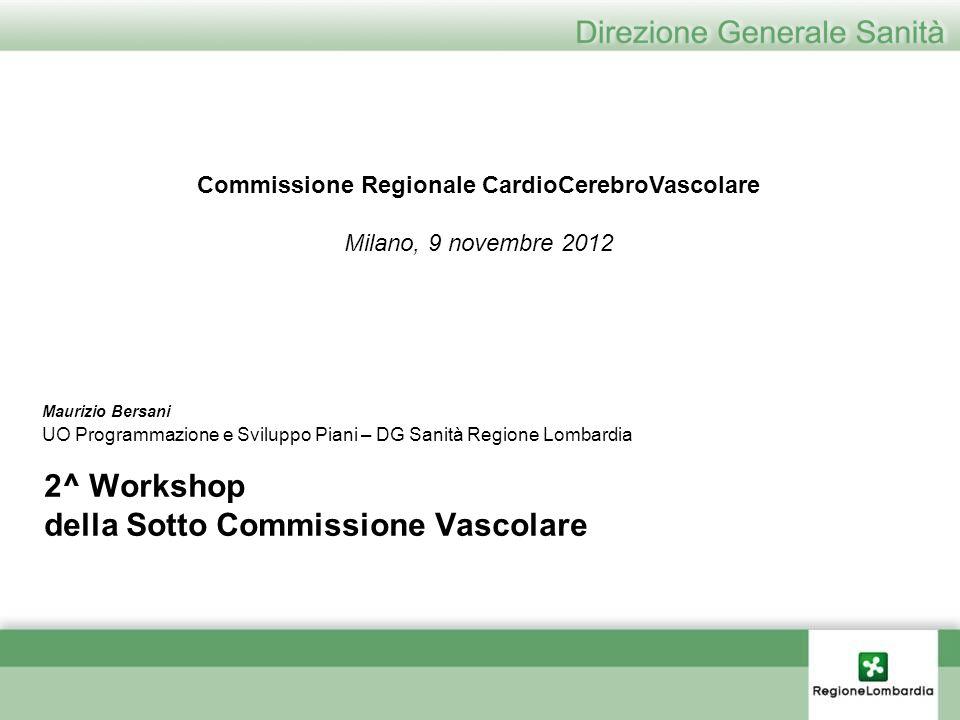2^ Workshop della Sotto Commissione Vascolare