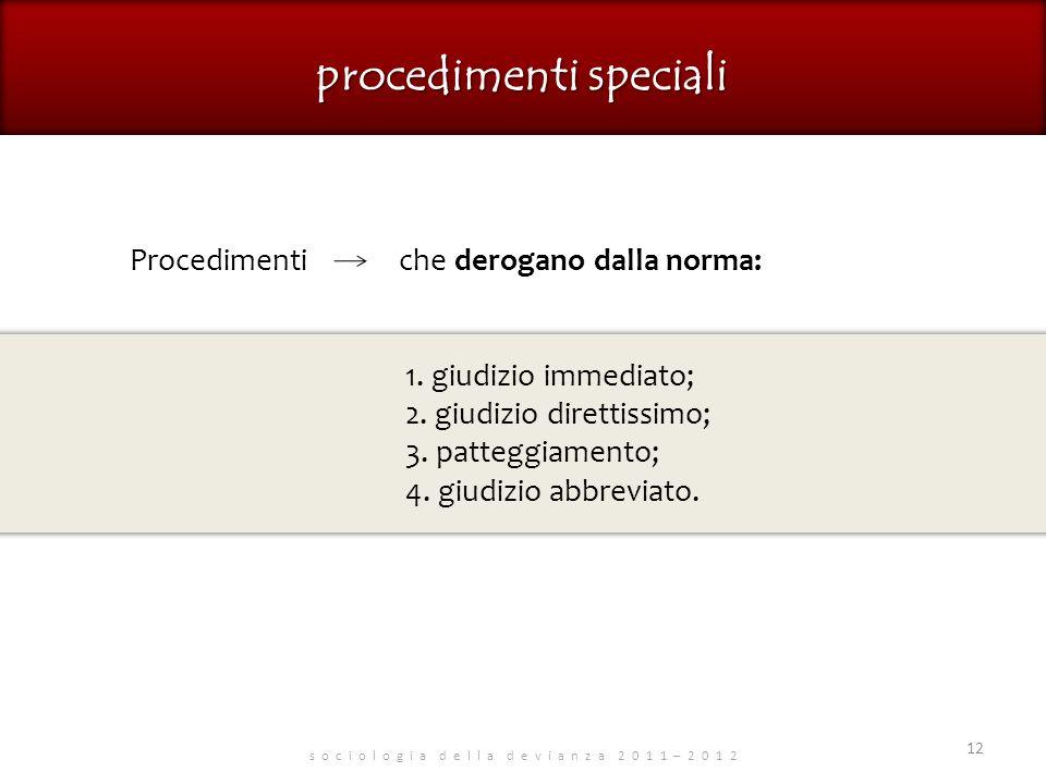 procedimenti speciali