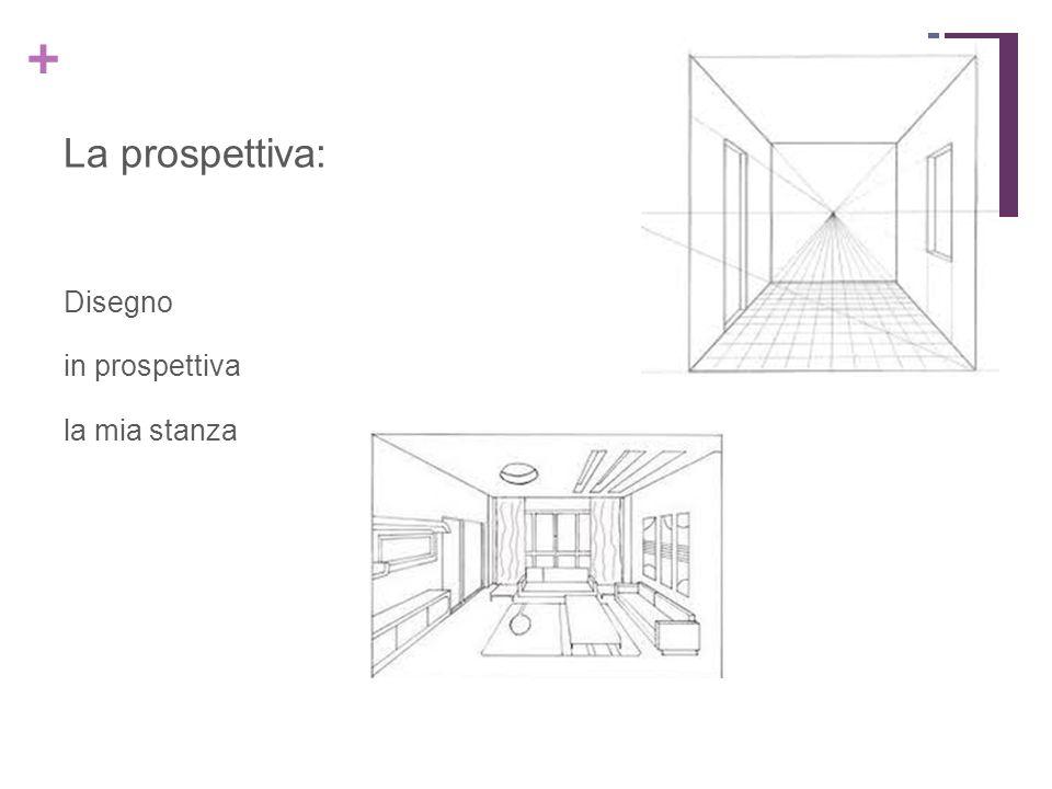 La prospettiva: Disegno in prospettiva la mia stanza