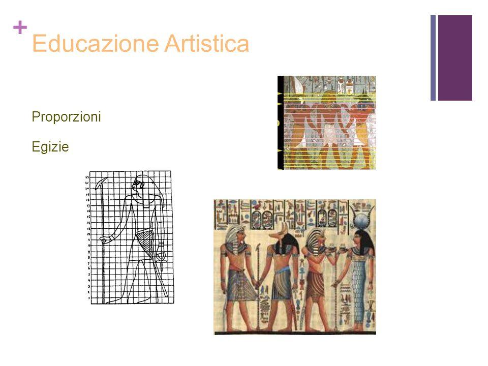 Educazione Artistica Proporzioni Egizie