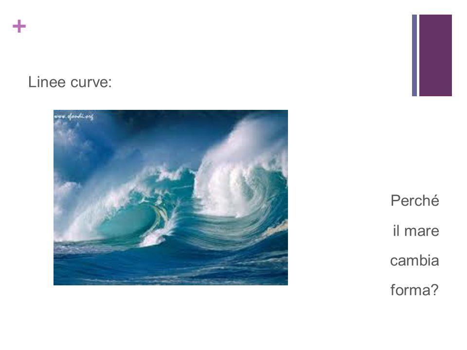 Linee curve: Perché il mare cambia forma