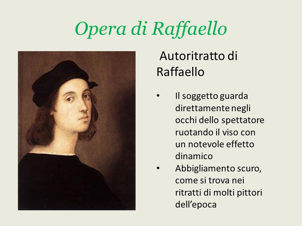 Opera di Raffaello Autoritratto di Raffaello