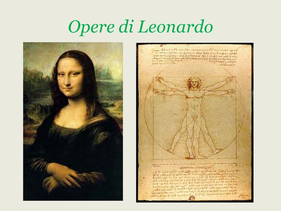 Opere di Leonardo