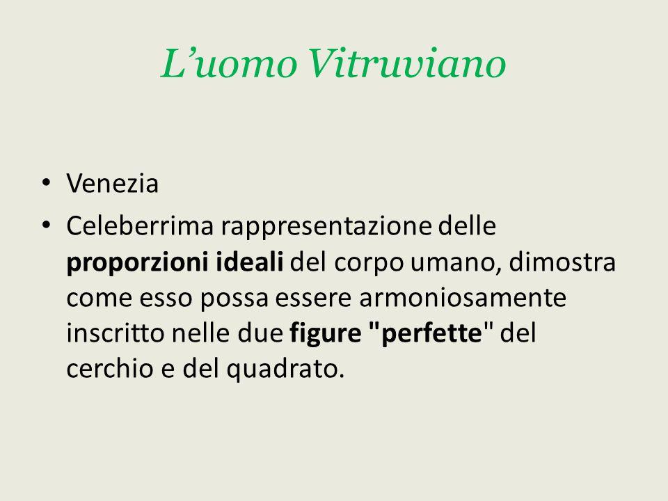 L'uomo Vitruviano Venezia