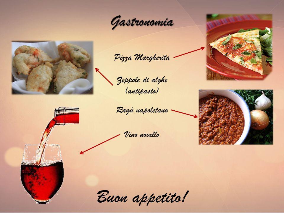 Buon appetito! Gastronomia Pizza Margherita Zeppole di alghe