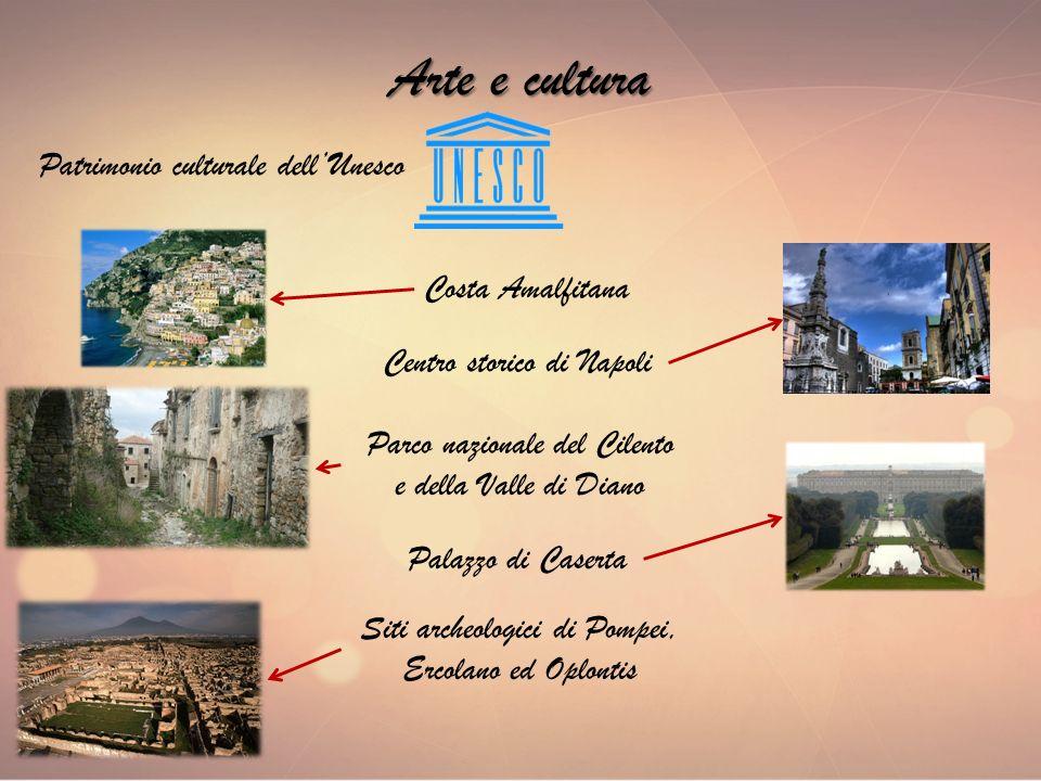 Arte e cultura Patrimonio culturale dell'Unesco Costa Amalfitana
