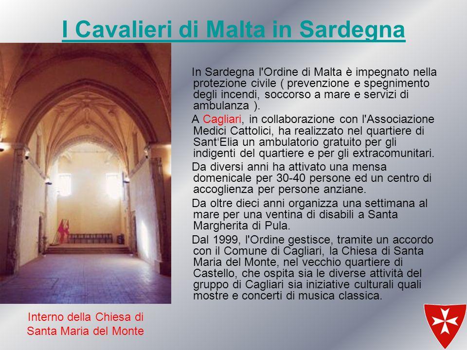I Cavalieri di Malta in Sardegna