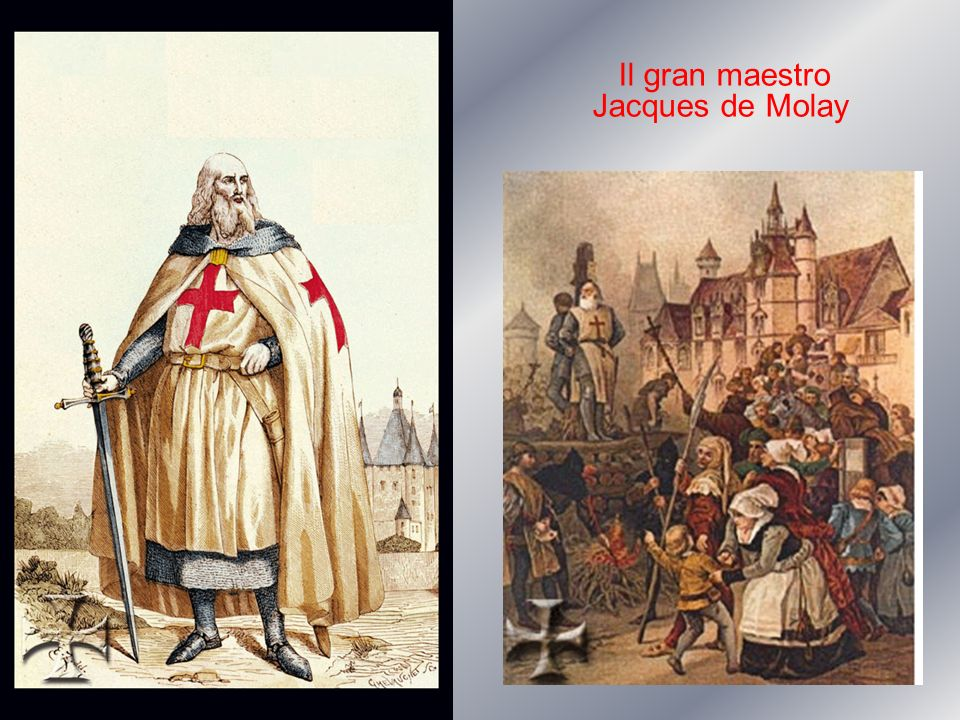 Il gran maestro Jacques de Molay