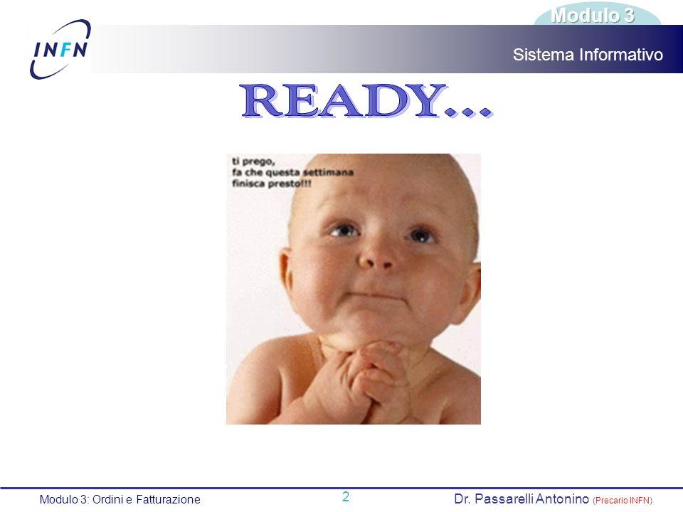 READY... Modulo 3 Sistema Informativo 2