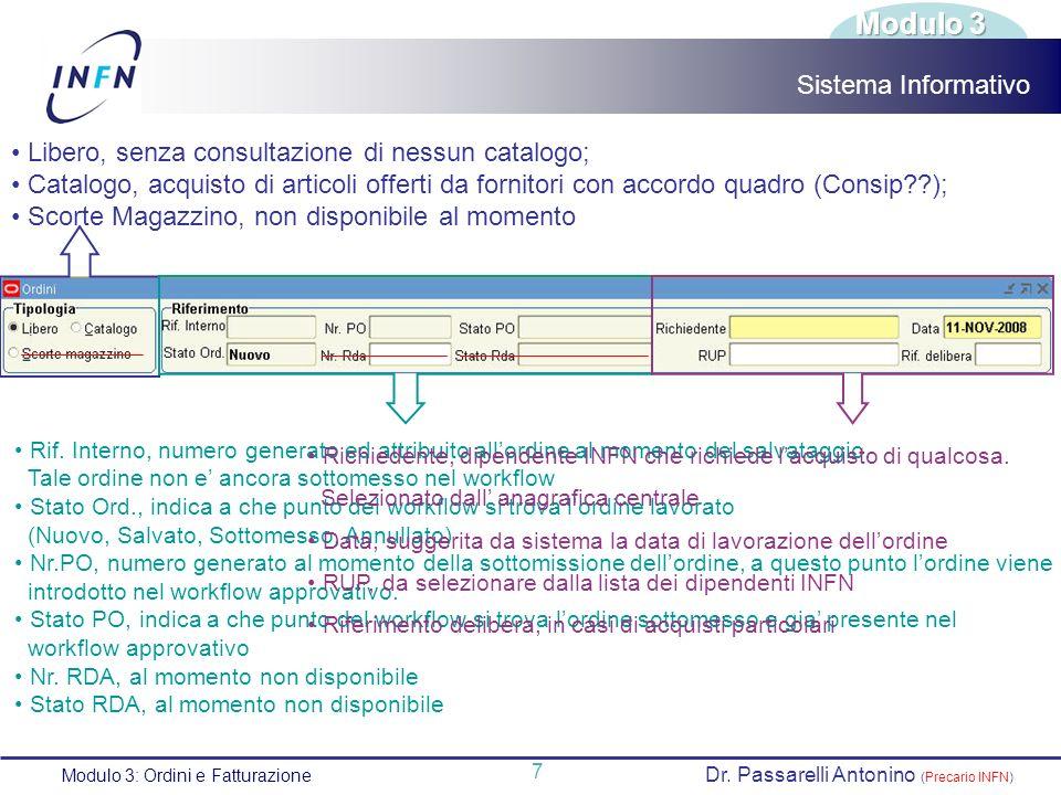 Modulo 3 Sistema Informativo