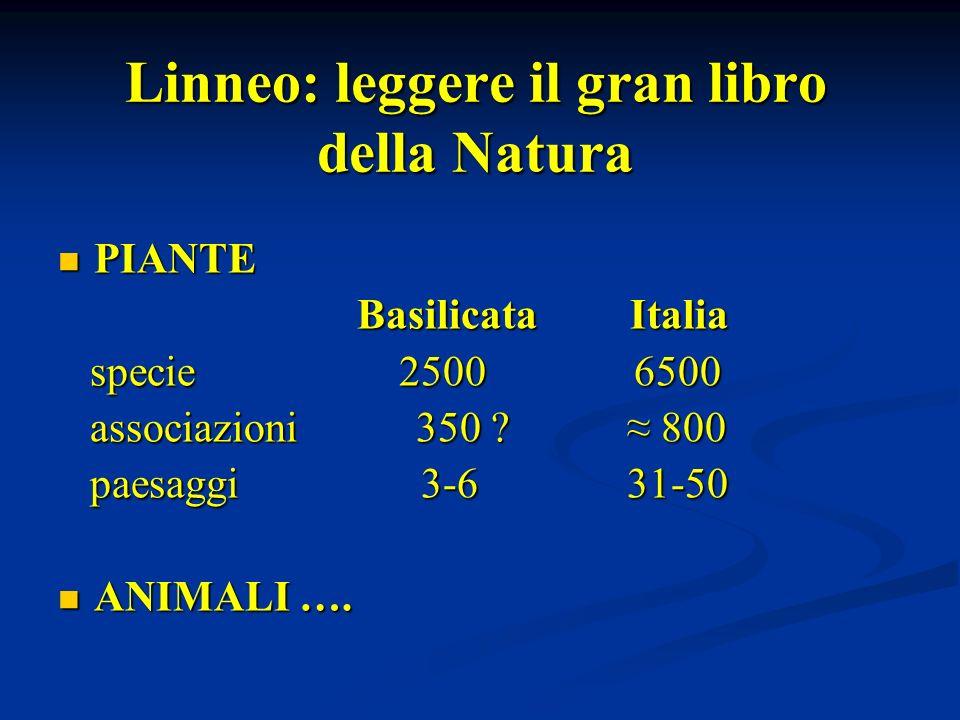 Linneo: leggere il gran libro della Natura