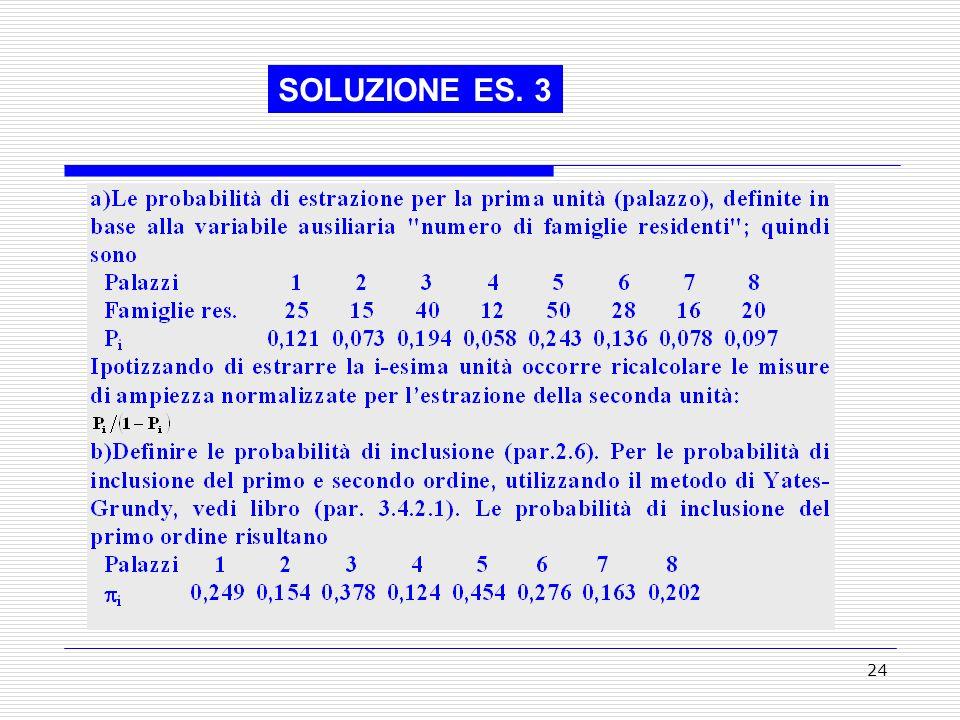 SOLUZIONE ES. 3