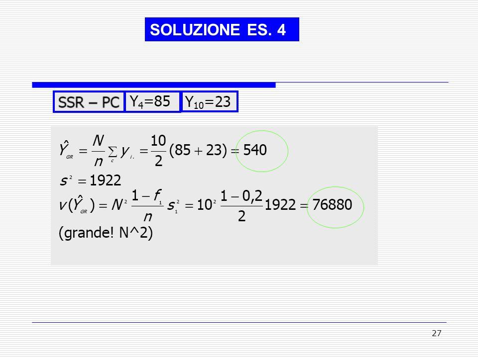 SOLUZIONE ES. 4
