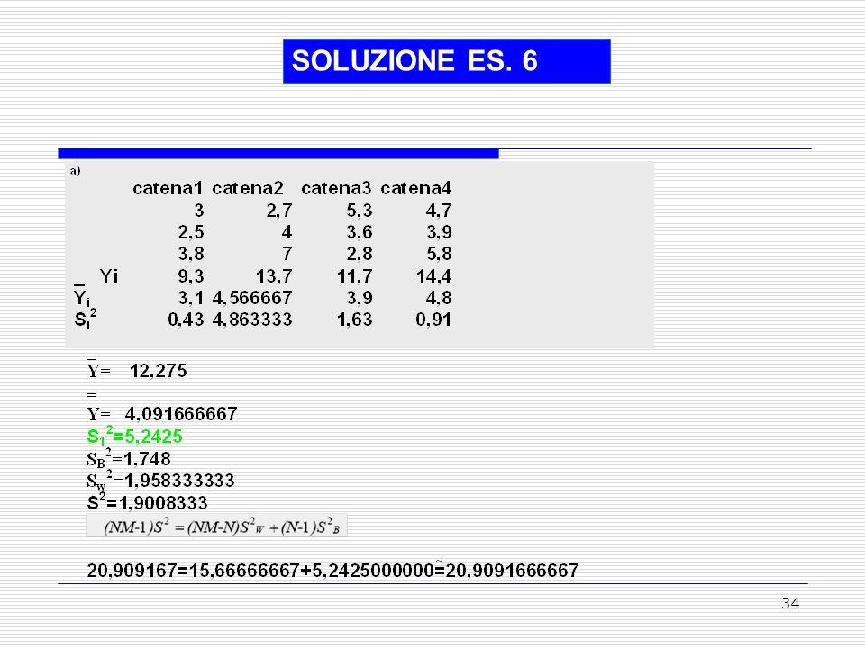 SOLUZIONE ES. 6