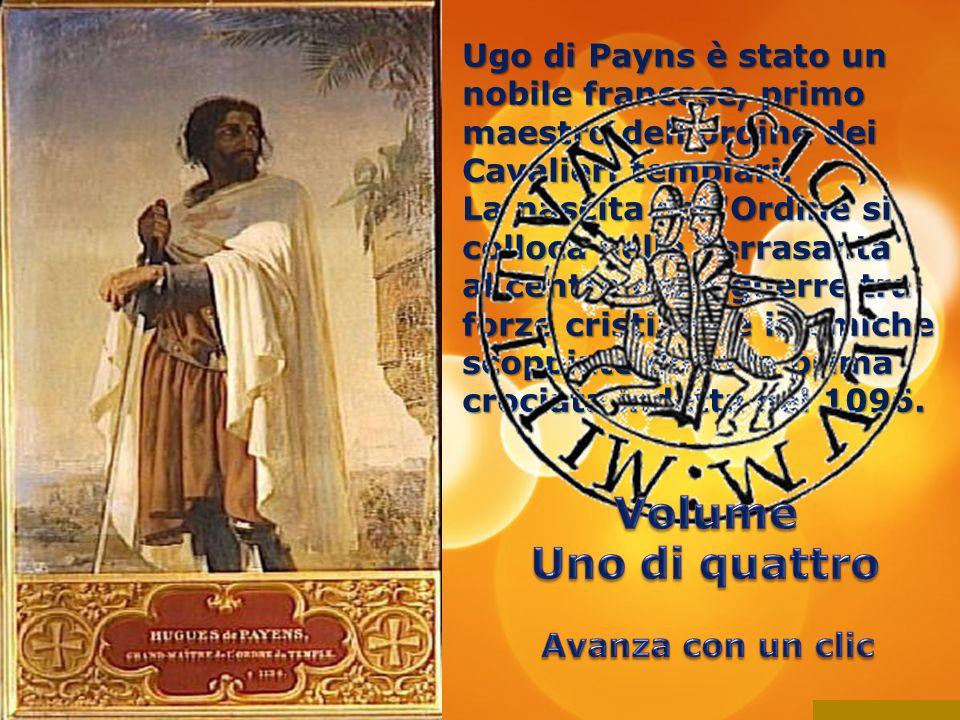 Ugo di Payns è stato un nobile francese, primo maestro dell ordine dei Cavalieri templari.