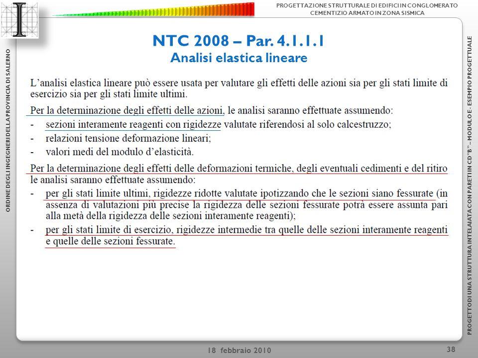 Analisi elastica lineare