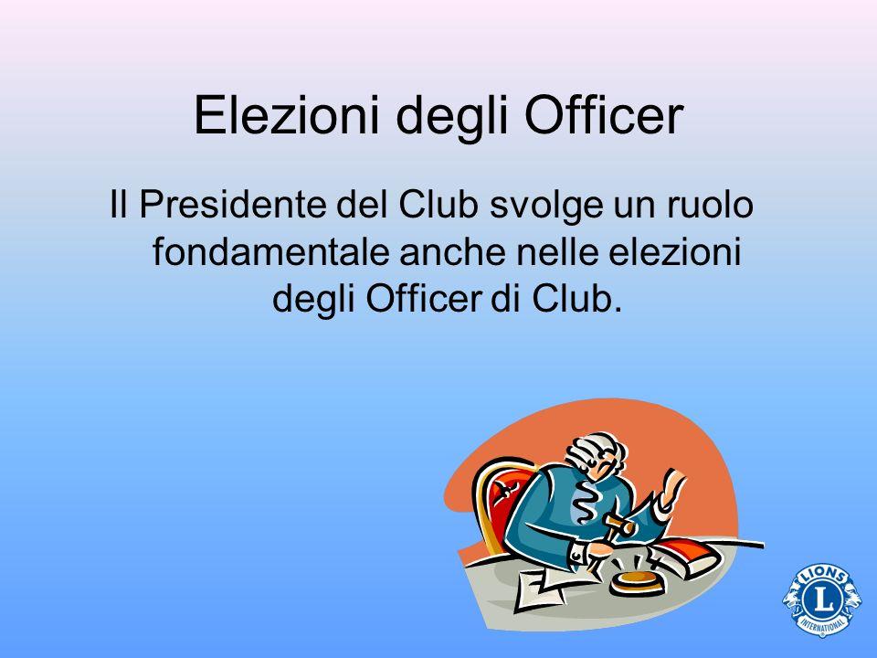 Elezioni degli Officer